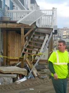 Wind and Flood damage from Hurricane Sandy - 2012